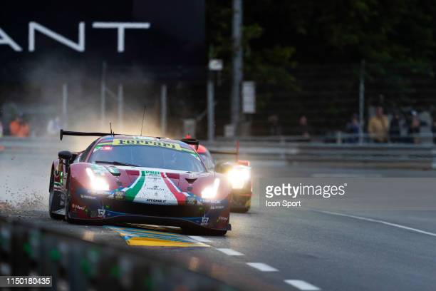 EVO of Alessandro PIER GUIDI James CALADO Daniel SERRA during the 24h du Mans on June 15 2019 in Le Mans France