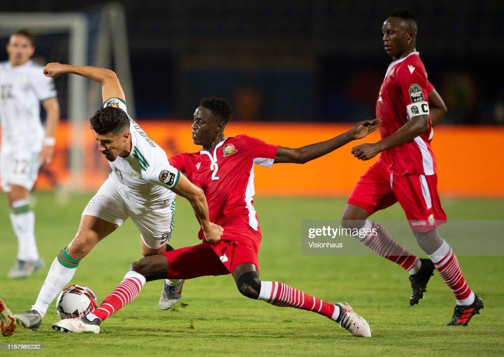 Algeria v Kenya: Group C - 2019 Africa Cup of Nations : News Photo