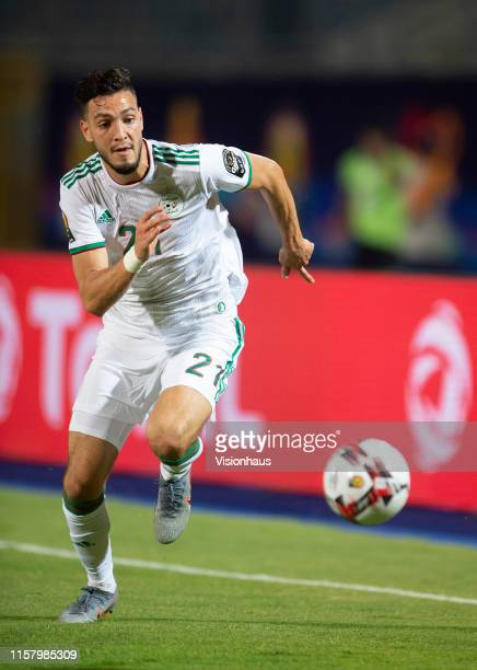 BENSEBAINI of Algeria during the 2019 Africa Cup of Nations Group C match between Algeria and Kenya at 30th June Stadium on June 23 2019 in Cairo...