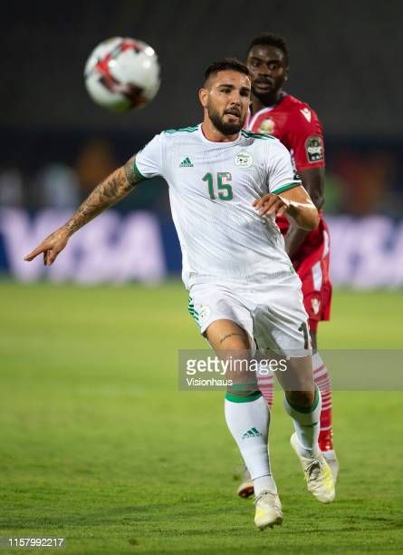 DELORT of Algeria during the 2019 Africa Cup of Nations Group C match between Algeria and Kenya at 30th June Stadium on June 23 2019 in Cairo Egypt