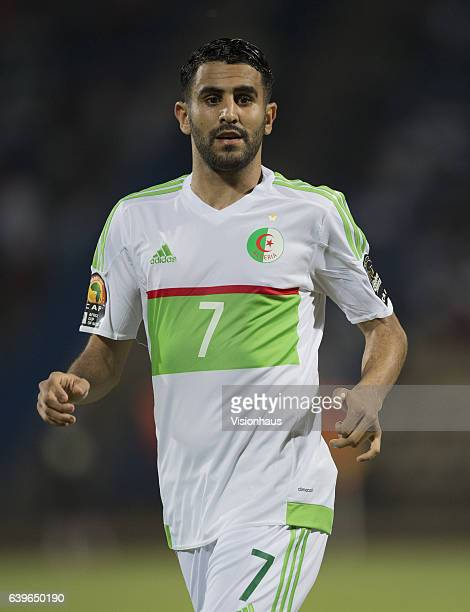 MAHREZ of Algeria during the Group B match between Algeria and Tunisia at Stade Franceville on January 19 2017 in Franceville Gabon