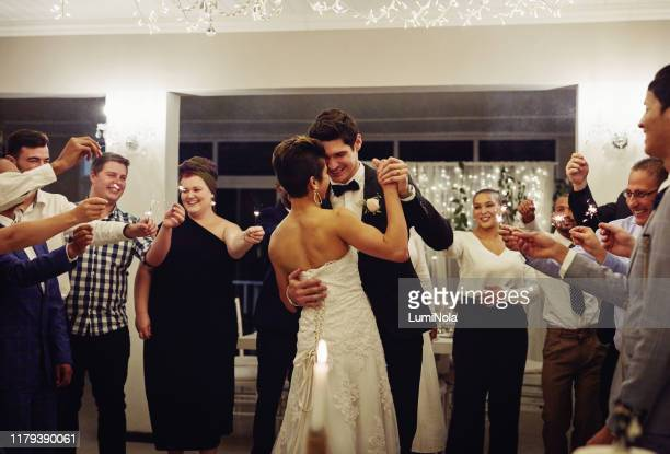 of all the dances they've danced, this is their favourite - wedding reception stock pictures, royalty-free photos & images
