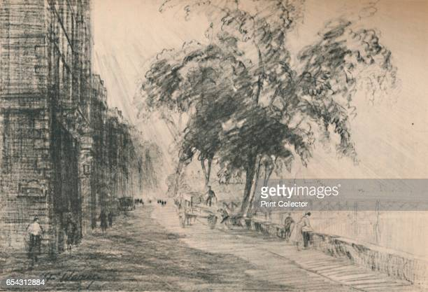 Of all the streets of Paris the Seine is the most interesting, c1927, . From A Book About Paris by George and Pearl Adam. [Jonathan Cape, London,...