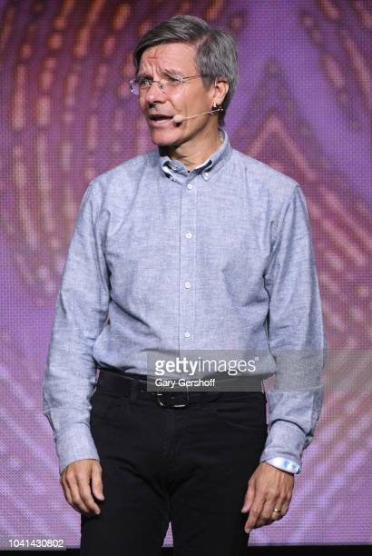 CEO of Allstate Tom Wilson speaks onstsge during WE Day UN at Barclays Center on September 26 2018 in New York City