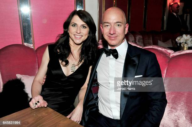 CEO of Amazon Jeff Bezos and writer MacKenzie Bezos attend the Amazon Studios Oscar Celebration at Delilah on February 26 2017 in West Hollywood...