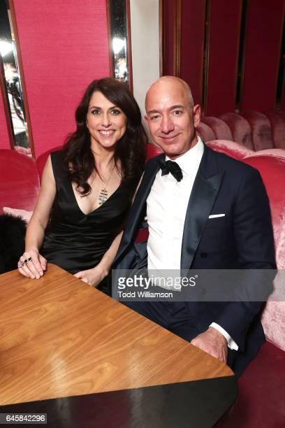 Of Amazon Jeff Bezos and writer MacKenzie Bezos attend the Amazon Studios Oscar Celebration at Delilah on February 26, 2017 in West Hollywood,...