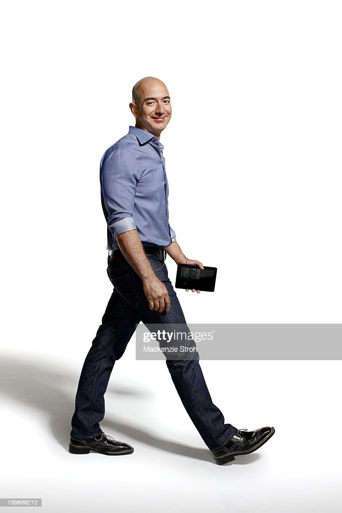 CEO of Amazon Jeff Bezos is photographed for Bloomberg Businessweek on September 26, 2011 in New York City.