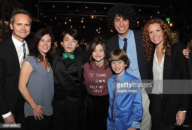 VP of Amazon Studios Roy Price Amazon Studios Head of Kids Programming Tara Sorensen actors Sloane Morgan Siegel Ashley Boettcher and Drew Justice...