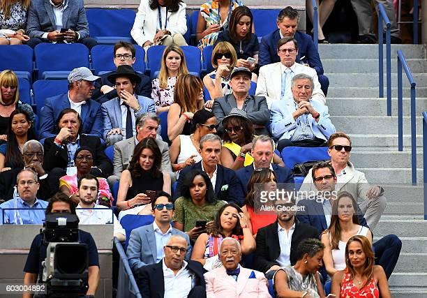 Of American Vogue Anna Wintour, actor Kevin Spacey, Evan Lowenstein, singer Tony Bennett, Guillermo Vilas, actor Damian Lewis, actress Mariska...