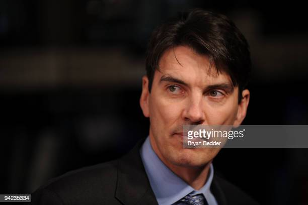 CEO of AOL Tim Armstrong attends the celebration of AOL becoming an independent company at the New York Stock Exchange on December 9 2009 in New York...