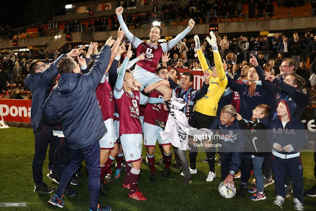FFA Cup Rd of 16 - APIA Leichhardt Tigers FC v Melbourne Victory : News Photo