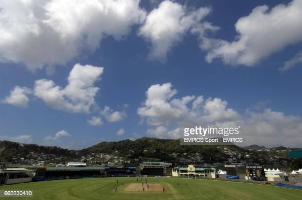 Of Arnos Vale Stadium as England play Bermuda