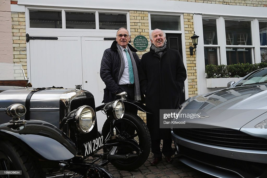 Ceo Of Aston Martin Dr Ulrich Bez And Aston Martin Chairman David News Photo Getty Images