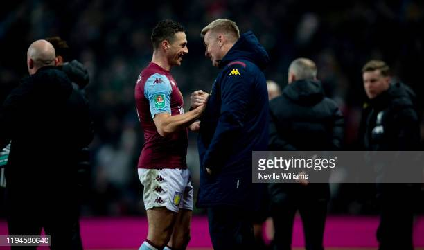 of Aston Villa in action during the Carabao Cup Quarter Final match between Aston Villa and Liverpool FC at Villa Park on December 17 2019 in...