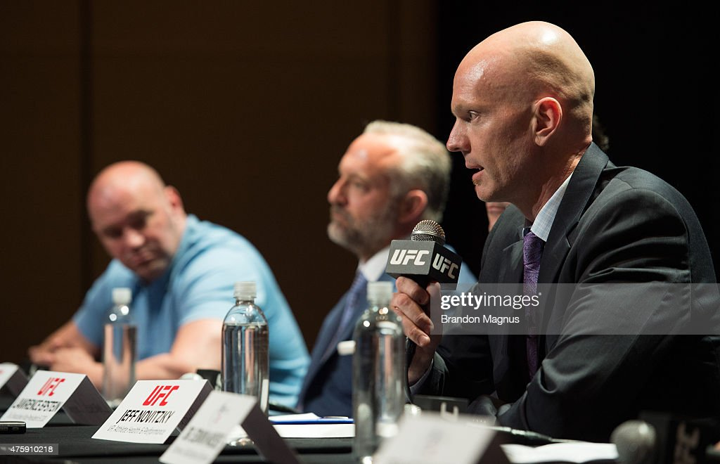 UFC Launches Anti-Doping Policy : News Photo