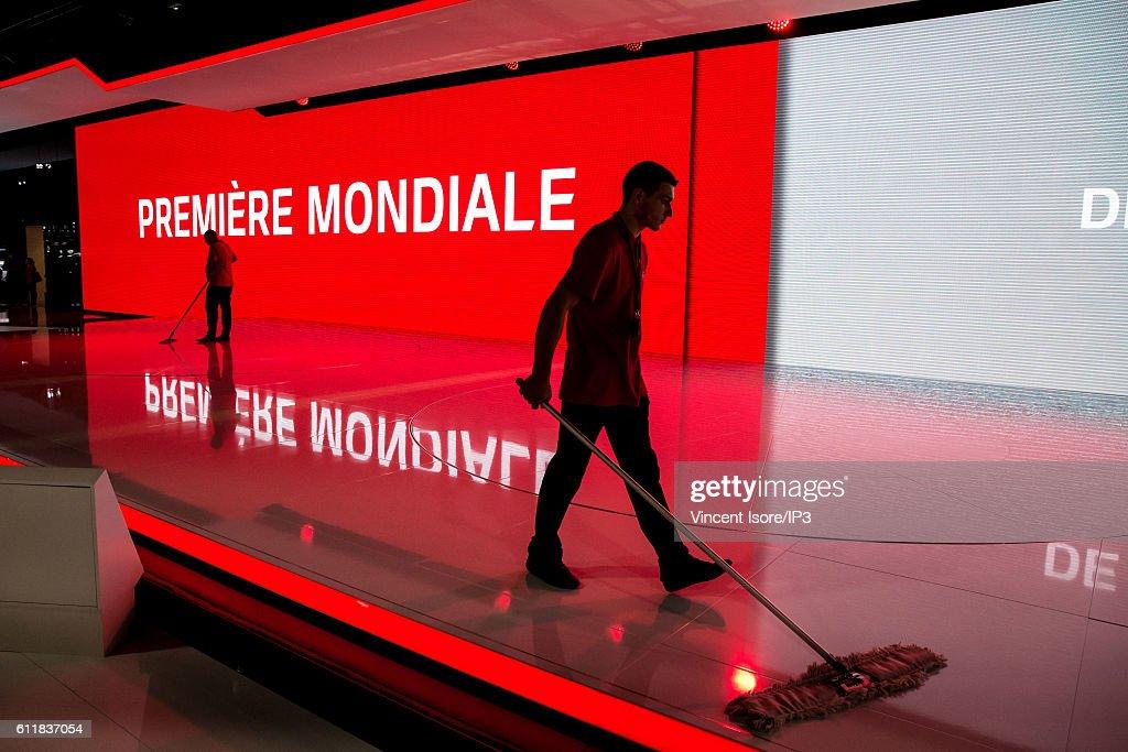 Press Preview Prior the 'Mondial De L'Automobile' - Paris Motorshow 2016 At Porte de Versailles