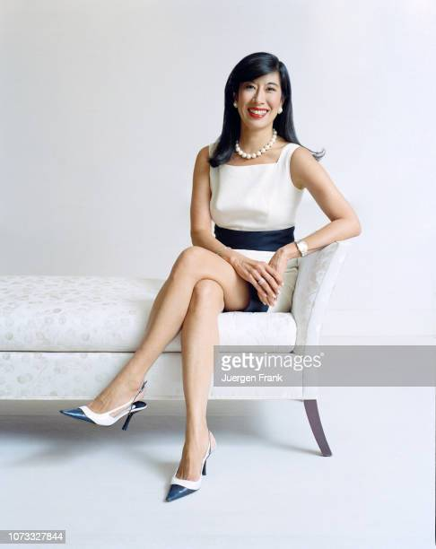 CEO of Avon Andrea Jung is photographed for The Focus Egon Zehnder on July 22 2008 in New York City