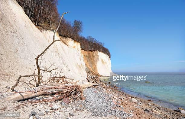 HDR der Ostsee Kreide Rock rugosa rose (Deutschland