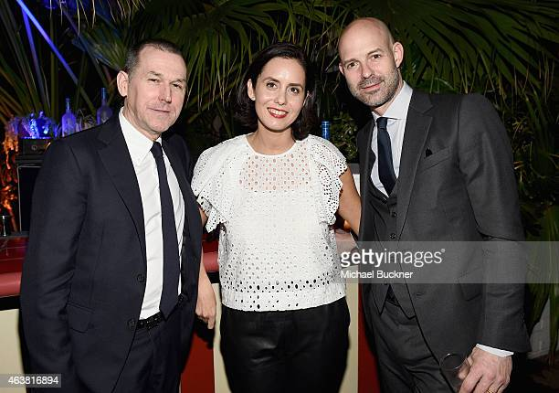 CEO of Barneys New York Mark Lee Vanity Fair Associate Publisher Alice McKown and Vanity Fair Publisher Chris Mitchell attend VANITY FAIR and Barneys...