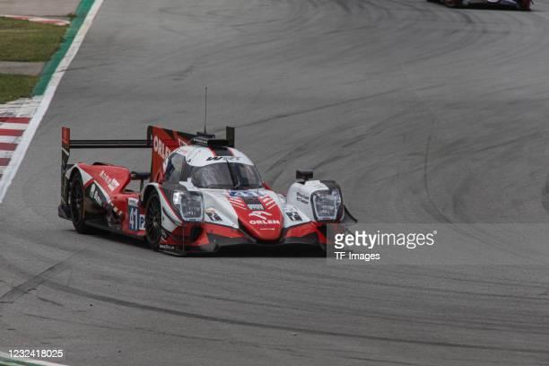 Of Belgium - ORECA 07, GIBSON - LMP2 - ROBERT KUBICA of Poland , YIFEI YE of China , LOUIS DELETRAZ of Switzerland during the European Le Mans Series...