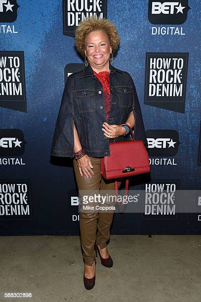 CEO of BET Debra L Lee attends the BET How To Rock Denim at Milk Studios on August 10 2016 in New York City