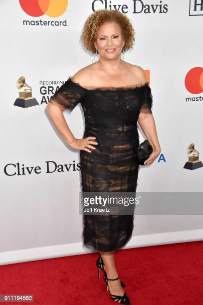 CEO of BET Debra L Lee attends the Clive Davis and Recording Academy PreGRAMMY Gala and GRAMMY Salute to Industry Icons Honoring JayZ on January 27...