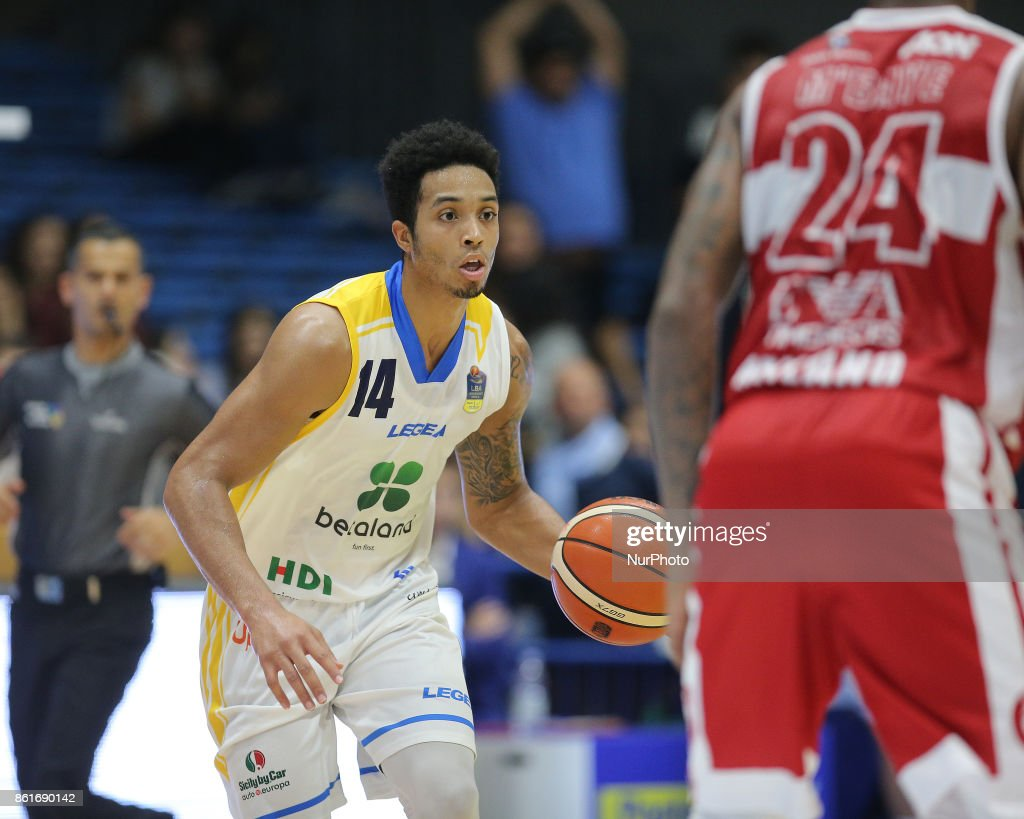 EDWARDS of Betaland during the LBA Serie A Postemobile Match Between Betaland Capo D'Orlando and EA7 Armani Milano on October 15, 2017 at Palasikeliarchivi in Capo D'orlando, Italy.