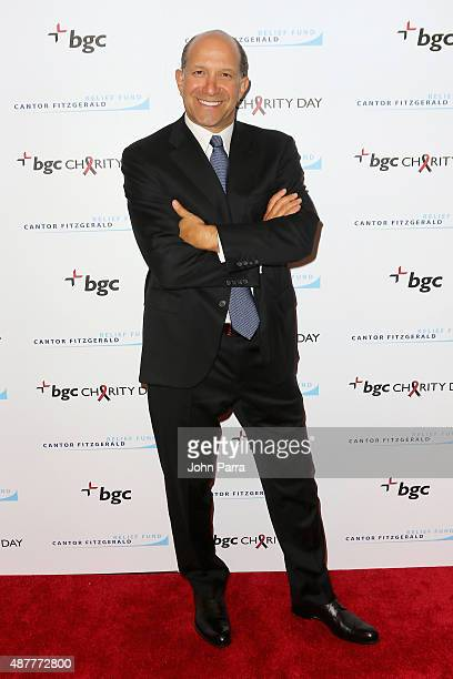 CEO of BGC Partners Howard W Lutnick attends Annual Charity Day hosted by Cantor Fitzgerald and BGC at BGC Partners INC on September 11 2015 in New...