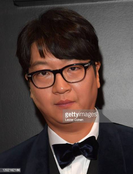 CEO of Big Hit Entertainment Lenzo Yoon attends the 62nd Annual GRAMMY Awards at STAPLES Center on January 26 2020 in Los Angeles California
