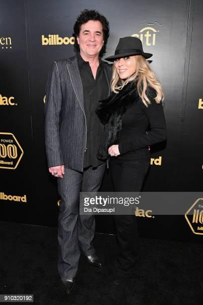 CEO of Big Machine Records Scott Borchetta and SVP Creative of Big Machine Label Group Sandi Spika Borchetta attend the 2018 Billboard Power 100...