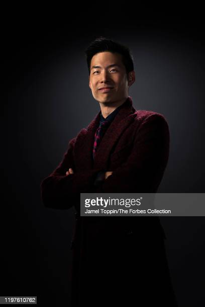 CEO of biotech company Cold Genesys Arthur Kuan is photographed for Forbes Magazine on October 29 2019 in New York City PUBLISHED IMAGE CREDIT MUST...