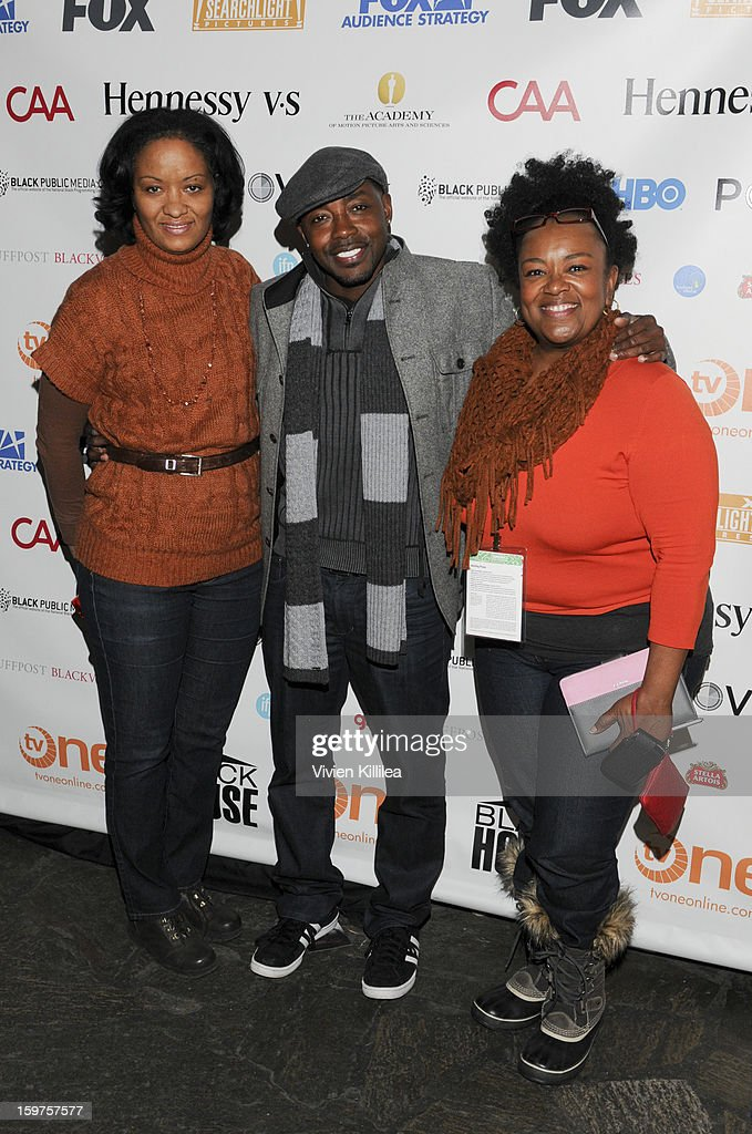 CFO of Blackhouse Gina McAllister, producer Will Packer and CAA of Blackhouse Algerita Wynn attend the Academy Conversation With Will Packer At Sundance Film Festival - 2013 Park City on January 19, 2013 in Park City, Utah.