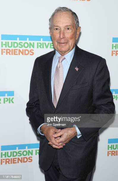 Of Bloomberg L.P. Michael Bloomberg attends the 2019 Hudson River Park Gala at Cipriani South Street on October 17, 2019 in New York City.