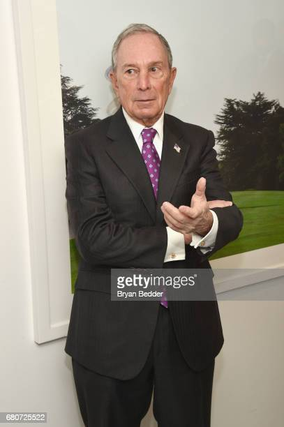 CEO of Bloomberg LP Michael Bloomberg attends the 4th Annual Town Country Philanthropy Summit at Hearst Tower on May 9 2017 in New York City