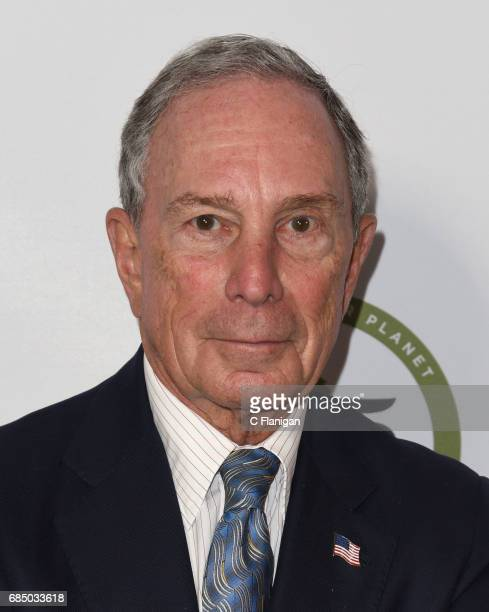 CEO of Bloomberg LP Michael Bloomberg attends the Sierra Club's 125th Anniversary Trail Blazer's Ball at Innovation Hangar on May 18 2017 in San...