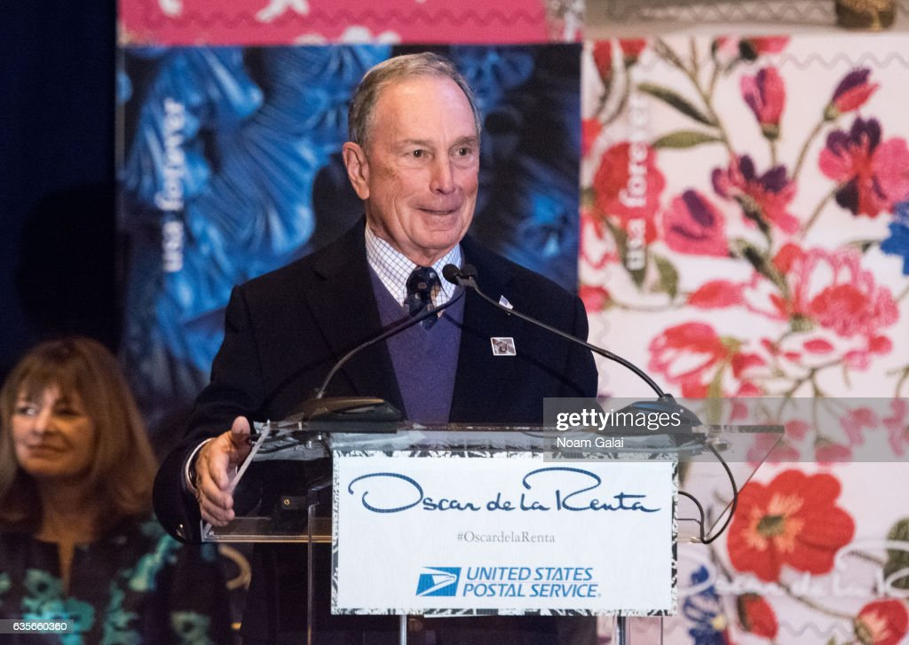 Oscar de la Renta Forever Stamp First-Day-Of-Issue Stamp Dedication Ceremony