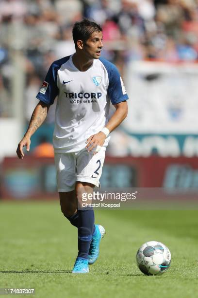 Of Bochum runs with the ball during the Second Bundesliga match between VfL Bochum 1848 and SG Dynamo Dresden at Vonovia Ruhrstadion on September 15,...
