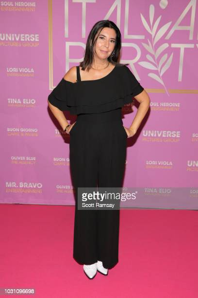 COO of Breaking Glass Pictures Susan Helfrich attends The Italian Party during 2018 Toronto International Film Festival celebrating Excelsis movie at...
