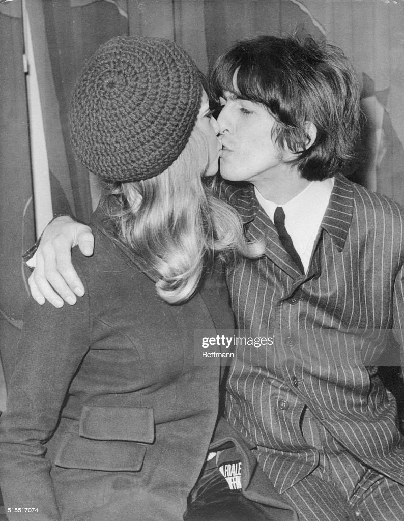 George Harrison Kissing Wife Patti Boyd1 Picture Embed EmbedLicense These Beatles Who Have Taken Brides And That Includes All But Paul McCartney