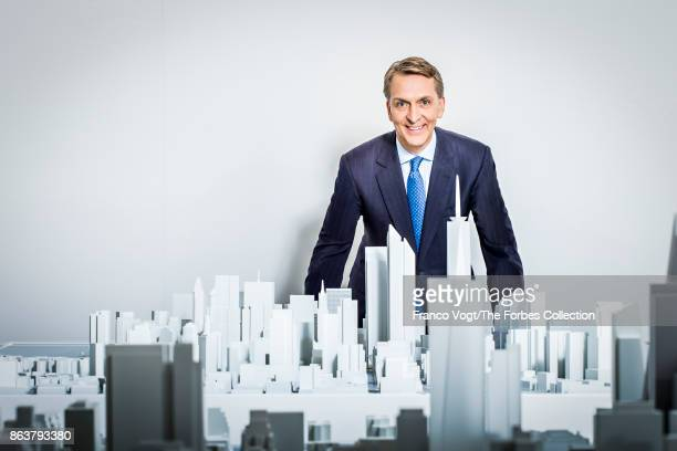 CEO of Brookfield Asset Management Bruce Flatt is photographed for Forbes Magazine on December 14 2016 in New York New York CREDIT MUST READ Franco...