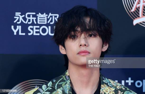 Of BTS arrives at the photo call for the 34th Golden Disc Awards on January 05, 2020 in Seoul, South Korea.