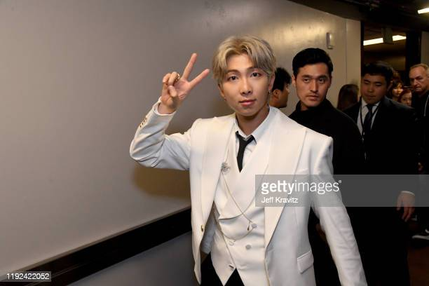 Of BTS attends 102.7 KIIS FM's Jingle Ball 2019 Presented by Capital One at the Forum on December 6, 2019 in Los Angeles, California.