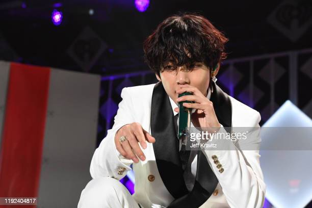 Of BTS performs onstage during 102.7 KIIS FM's Jingle Ball 2019 Presented by Capital One at the Forum on December 6, 2019 in Los Angeles, California.