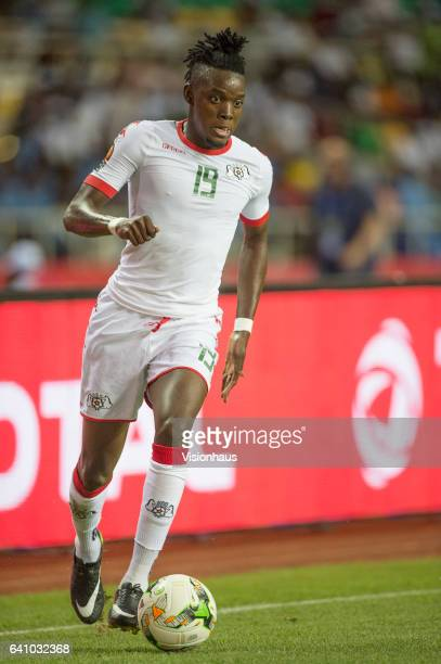 TRAORE of Burkina Faso during the semifinal match between Burkina Faso and Egypt at Stade de L'Amitie on February 01 2017 in Libreville Gabon
