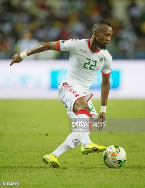 TOURE of Burkina Faso during the semifinal match between Burkina Faso and Egypt at Stade de L'Amitie on February 01 2017 in Libreville Gabon