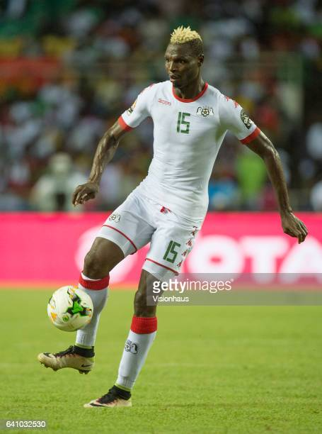 BANCE of Burkina Faso during the semifinal match between Burkina Faso and Egypt at Stade de L'Amitie on February 01 2017 in Libreville Gabon