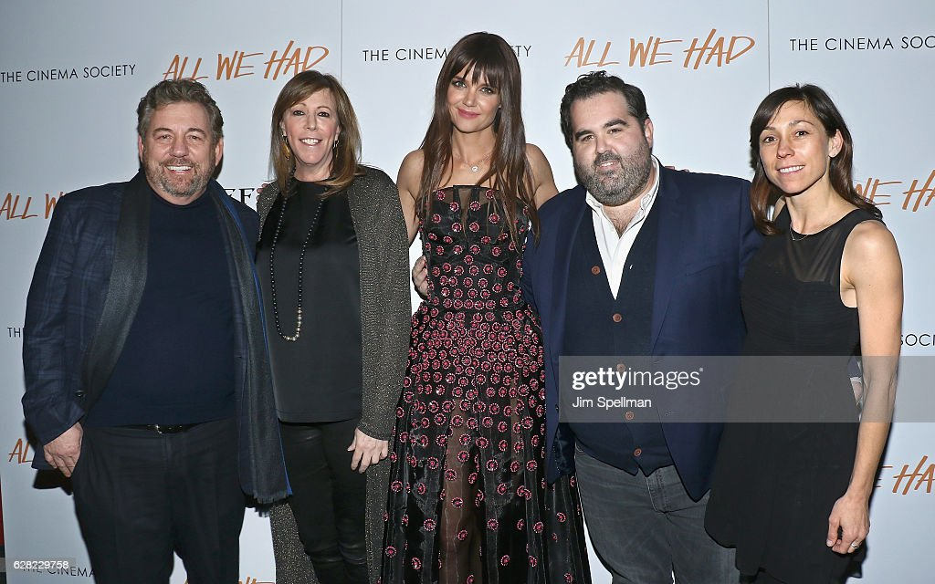 """The Cinema Society & Ruffino Host A Screening Of """"All We Had""""- Arrivals"""