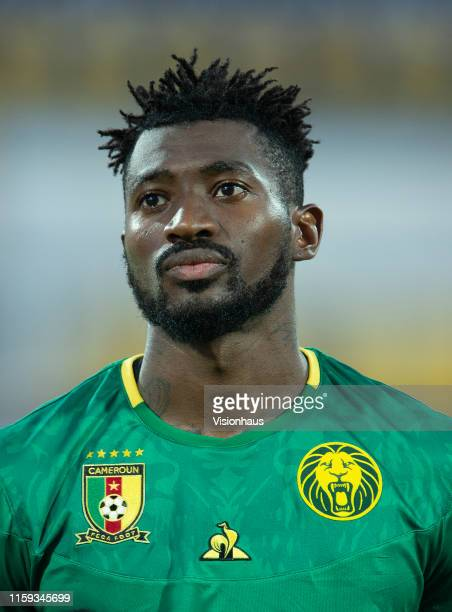 ANGUISSA of Cameroon during the 2019 Africa Cup of Nations Group F match between Cameroon and GuineaBissau at Ismailia Stadium on June 25 2019 in...