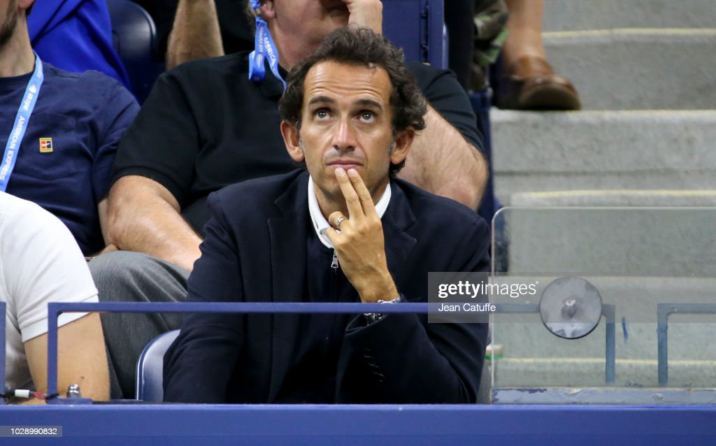 ceo of carrefour alexandre bompard attends the men u0026 39 s semifinals on    news photo