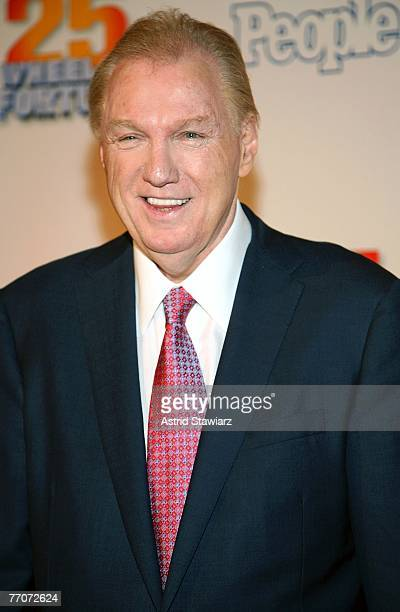 CEO of CBS Television Distribution Roger King attend the 25th anniversary celebration of the television game show Wheel Of Fortune at Radio City...